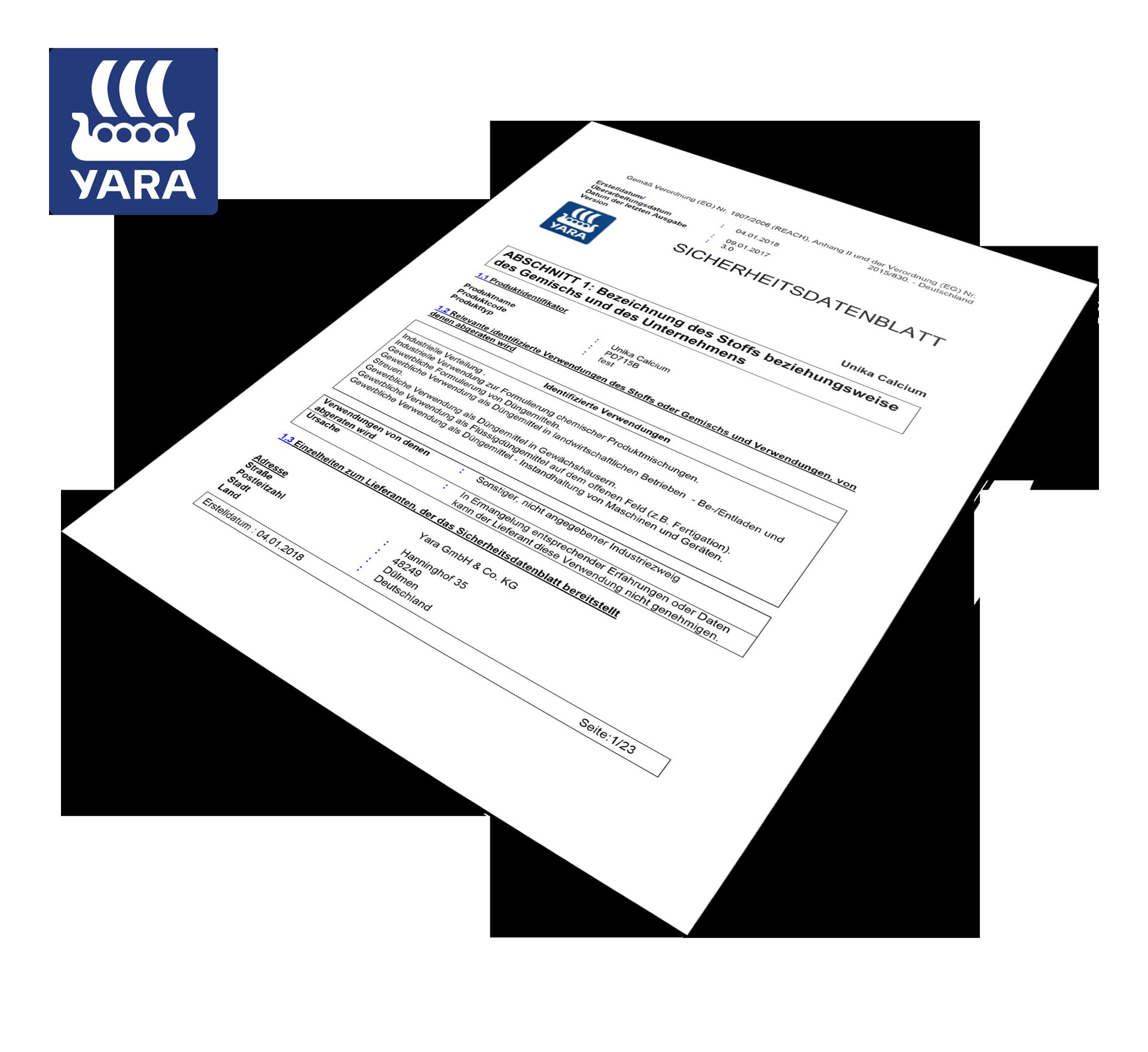 Unika_Calcium_Sicherheitsdatenblatt
